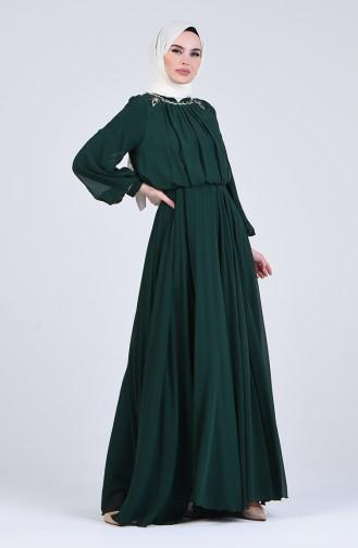 Habillé Hijab Vert emeraude 5160-02