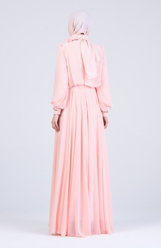 Habillé Hijab Saumon 5160-03