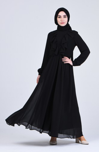 Robe Hijab Noir 4297-01