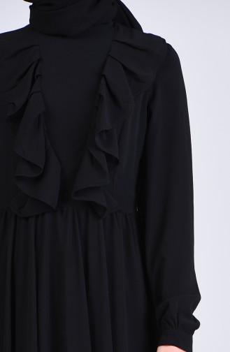 Schwarz Hijap Kleider 4297-01