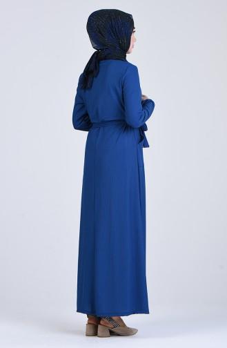 Robe Hijab Indigo 6545-04
