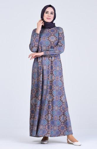 Robe Hijab Pourpre 6169C-03