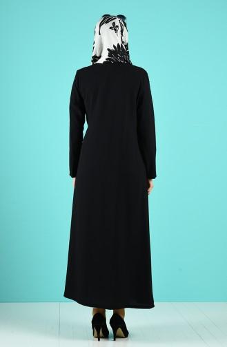 Abayas Noir 19015-04