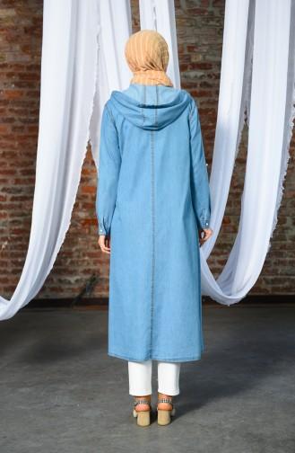 Jeans Blue Mantel 8199-01