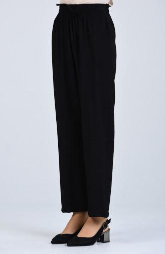 Pantalon Noir 0151-01