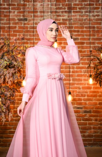 Habillé Hijab Poudre 4809-02