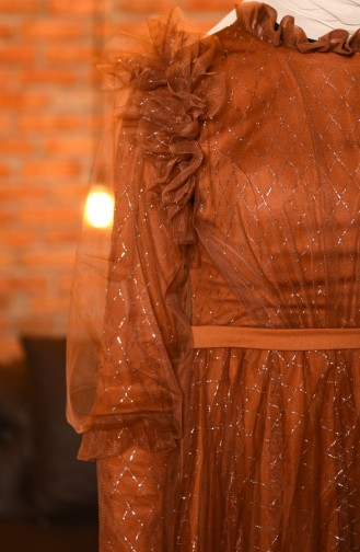 Tabak Hijab-Abendkleider 4815-03