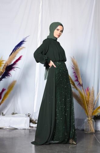 Emerald İslamitische Avondjurk 5230-02