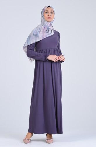 Robe Hijab Lila 1934-08