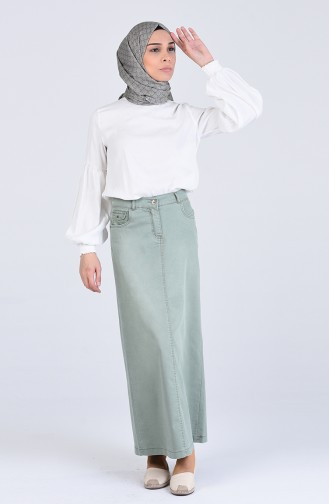 Jupe Vert eau 0475-01