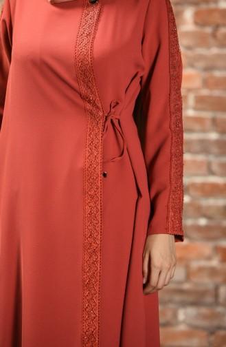 Abayas Couleur brique 19015-01