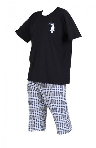 Pyjama Noir 812037-A