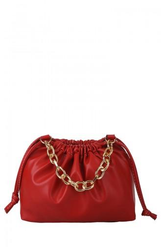 حقيبة كتف أحمر 397-055