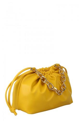 حقيبة كتف أصفر 397-181