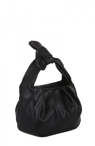 Bayan Çapraz Omuz Çantası M398-001 Siyah