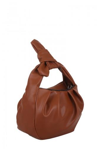 Tobacco Brown Shoulder Bag 398-091