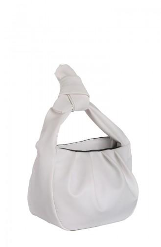 Sac D`épaule Blanc 398-105
