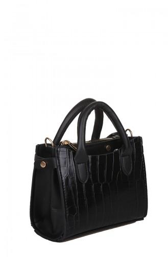 Bayan Çapraz Omuz Çantası M399-001 Siyah