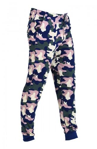 Pyjama Renkli 805025-A