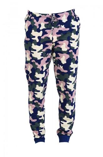 Renkli Pyjama 805025-A