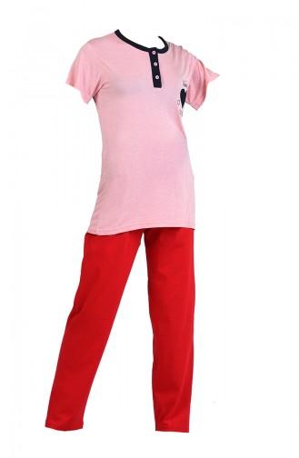 Red Pyjama 9050-03