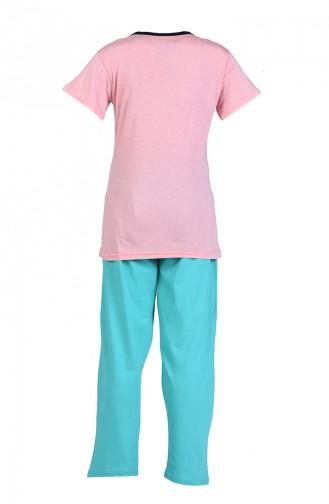 Green Pyjama 9050-04