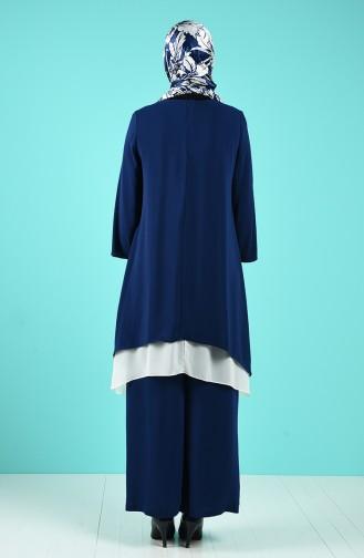Indigo Suit 21014-04