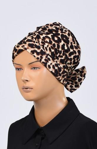 Bonnet Couleur Brun 1128-01