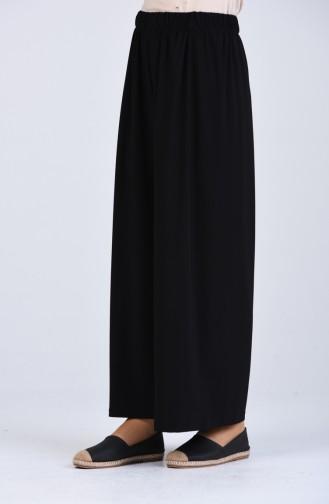 Pantalon Noir 1021-01