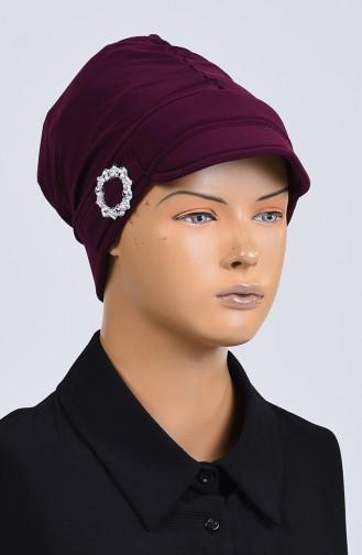 القبعات ارجواني داكن 7018-06