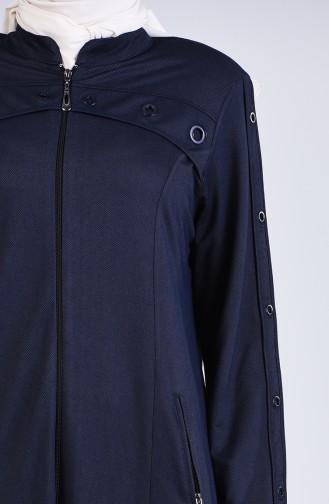 Abayas Bleu Marine Foncé 6080-04