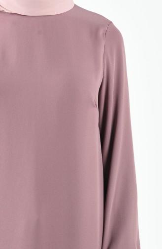 Chemise Rose Pâle 11004-03