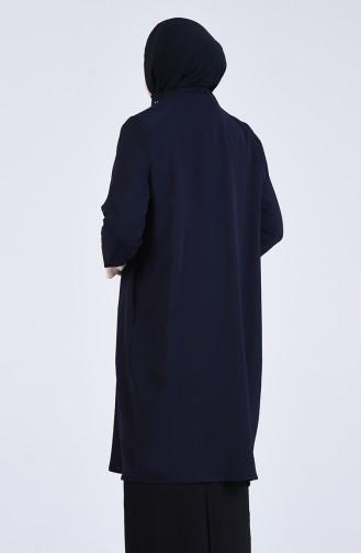 Dunkelblau Anzüge 2075-01
