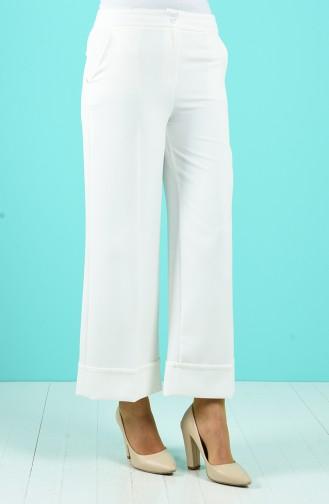 Pantalon Ecru 3156-05