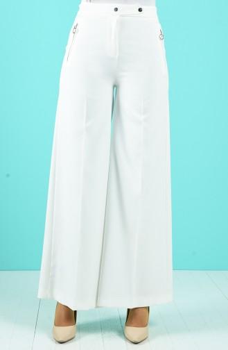 Pantalon Ecru 3161-03
