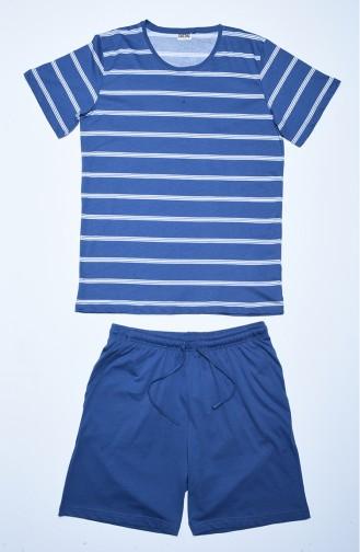 Pyjama Bleu marine clair 811306-A