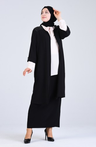 Schwarz Anzüge 2075-07