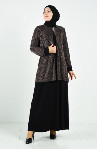 Copper İslamitische Avondjurk 1315-03
