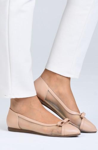 Skin color Woman Flat Shoe 0211-05