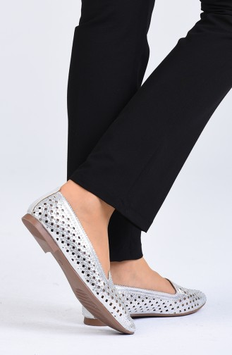 Nacre Woman Flat Shoe 0608-03