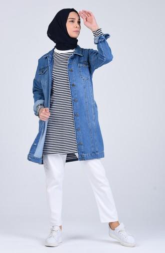 Veste Bleu Jean 6097-01