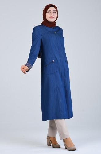 Abayas Bleu Marine 0805-04
