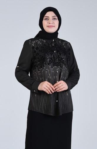 Chemise Noir 3610-03