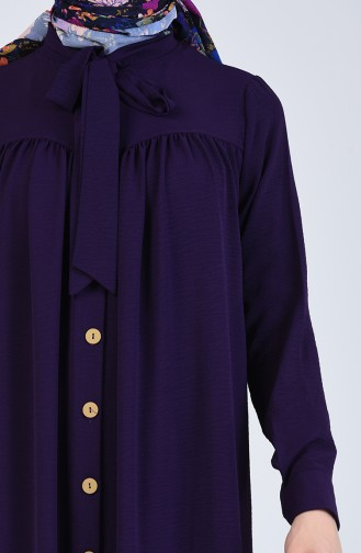 Purple İslamitische Jurk 5671-03