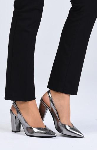 Platin Heeled Shoes 0123-01