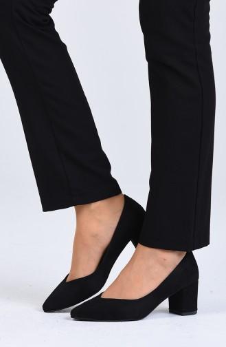 Black Heeled Shoes 0610-02