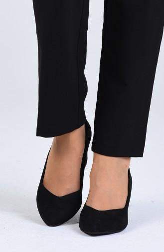 Chaussures a Talons Noir 0610-02