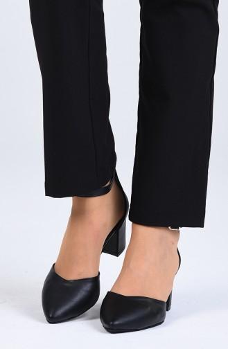 Chaussures a Talons Noir 0612-02