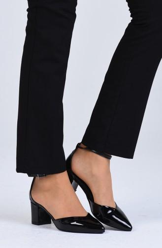 Chaussures a Talons Noir 0612-03