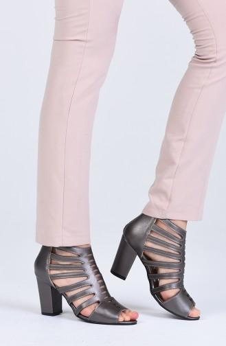 أحذية الكعب العالي بلاتين 1301-02